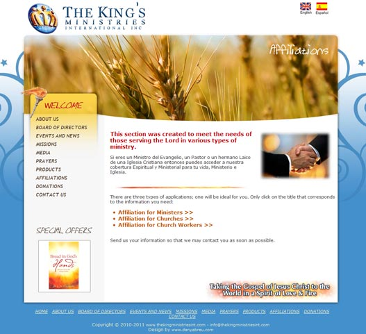 The King's Ministries Int Affiliations
